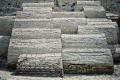 Παραδοσιακό έδαφος νεκροταφείων και ενταφιασμών στην αρχαία πόλη του ιστορικού δρόμου μεταξιού στοκ φωτογραφία με δικαίωμα ελεύθερης χρήσης