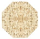 Παραδοσιακό εβραϊκό φύλλο Matzoth για το Passover Seder Στοκ Εικόνες