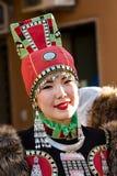 Παραδοσιακό κοστούμι της Ρωσίας Στοκ εικόνα με δικαίωμα ελεύθερης χρήσης