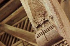 Παραδοσιακό ξύλο που κάμπτει ως πολιτισμική κληρονομιά στοκ εικόνες