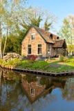 Παραδοσιακό ολλανδικό σπίτι στοκ φωτογραφία με δικαίωμα ελεύθερης χρήσης