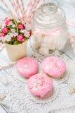 Παραδοσιακό Πάσχα cupcake και cupcakes Στοκ Φωτογραφίες
