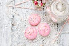 Παραδοσιακό Πάσχα cupcake και cupcakes Στοκ Φωτογραφία