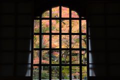 παραδοσιακό παράθυρο κα Στοκ φωτογραφία με δικαίωμα ελεύθερης χρήσης