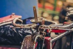 Παραδοσιακό ποδήλατο της Ασίας στοκ εικόνες