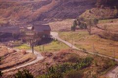 Παραδοσιακό σπίτι βουνών στοκ εικόνες