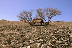 Παραδοσιακό σπίτι βουνών Στοκ Φωτογραφίες