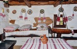 Παραδοσιακό σπίτι της Ρουμανίας Στοκ Φωτογραφία