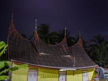 Παραδοσιακό σπίτι Minang Στοκ φωτογραφία με δικαίωμα ελεύθερης χρήσης