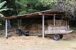 Παραδοσιακό ταϊλανδικό αγροτικό φορτηγό στοκ εικόνα με δικαίωμα ελεύθερης χρήσης