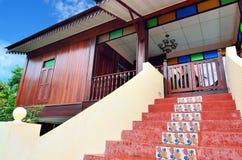 Παραδοσιακό της Μαλαισίας σπίτι Στοκ Εικόνες