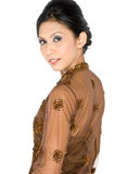 Παραδοσιακό της Μαλαισίας φόρεμα στοκ εικόνα με δικαίωμα ελεύθερης χρήσης