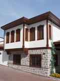 Παραδοσιακό τουρκικό σπίτι Στοκ εικόνα με δικαίωμα ελεύθερης χρήσης