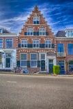 Παραδοσιακό τούβλινο ολλανδικό σπίτι Στοκ εικόνα με δικαίωμα ελεύθερης χρήσης