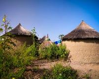Παραδοσιακό χωριό ανθρώπων προβατίνων, περιοχή Tatale, του Τόγκο στοκ φωτογραφίες