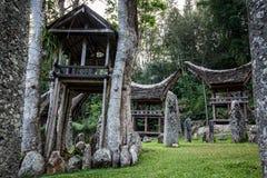 Παραδοσιακό χωριό της Tana Toraja Στοκ Εικόνες