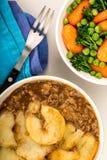 Παραδοσιακό Casserole Lancashire Hotpot αρνιών Στοκ Εικόνα