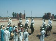 Παραδοσιακό fantasia στο Μαρόκο στοκ φωτογραφία με δικαίωμα ελεύθερης χρήσης