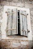 παραθυρόφυλλα ξύλινα Στοκ Εικόνες