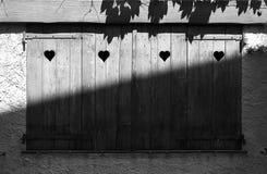 παραθυρόφυλλα Στοκ φωτογραφία με δικαίωμα ελεύθερης χρήσης