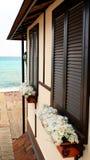 Παραθυρόφυλλα στη θάλασσα στοκ εικόνα με δικαίωμα ελεύθερης χρήσης