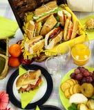 παρακωλύστε picnic Στοκ εικόνες με δικαίωμα ελεύθερης χρήσης