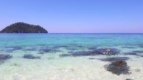Παραλία άμμου Koh Lipe, Ταϊλάνδη Όμορφη θάλασσα στοκ εικόνες με δικαίωμα ελεύθερης χρήσης