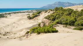 Παραλία άμμου Patara Επαρχία Antalya Τουρκία στοκ εικόνες