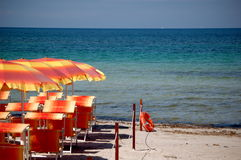 παραλία ήρεμη Στοκ φωτογραφία με δικαίωμα ελεύθερης χρήσης
