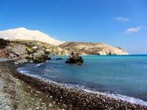 Παραλία αγάπης Βράχος Aphrodite ` s - τόπος γεννήσεως Aphrodite ` s κοντά σε Papho Στοκ φωτογραφίες με δικαίωμα ελεύθερης χρήσης