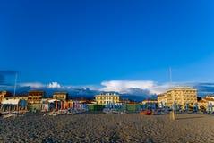 παραλία αμμώδης Τοσκάνη Στοκ Εικόνες