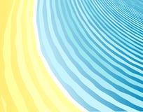 παραλία ανασκόπησης ελεύθερη απεικόνιση δικαιώματος