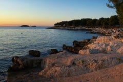 Παραλία βράχου   Στοκ Εικόνες