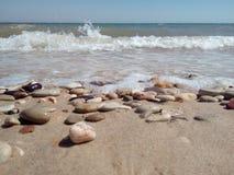 Παραλία βράχων στοκ φωτογραφία με δικαίωμα ελεύθερης χρήσης