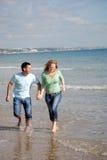 παραλία διασκέδασης Στοκ εικόνα με δικαίωμα ελεύθερης χρήσης