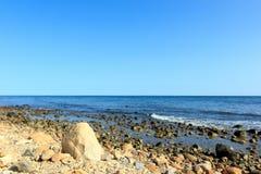 παραλία δύσκολη Στοκ Φωτογραφία