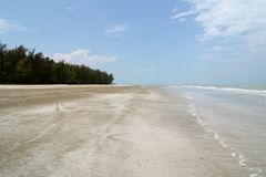 παραλία ειρηνική Στοκ Εικόνες