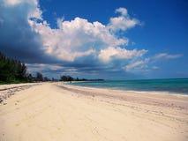 Παραλία επτά μιλι'ου στο νησί Γκραν Κέιμαν Εξωτικός, τουρισμός στοκ εικόνα