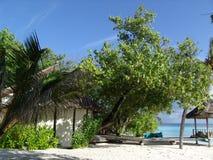 παραλία ηλιακή Στοκ Φωτογραφία
