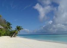 παραλία ηλιακή Στοκ εικόνα με δικαίωμα ελεύθερης χρήσης