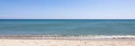 παραλία ηλιόλουστη Στοκ Εικόνες