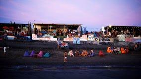 Παραλία ηχούς στο Μπαλί στοκ εικόνα