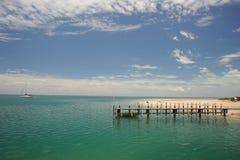 Παραλία Ινδικού Ωκεανού Στοκ φωτογραφίες με δικαίωμα ελεύθερης χρήσης