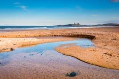Παραλία και έγκαυμα Embleton στοκ εικόνες με δικαίωμα ελεύθερης χρήσης