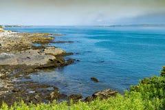 Παραλία και Ατλαντικός Ωκεανός του Πόρτλαντ Μαίην στοκ φωτογραφία
