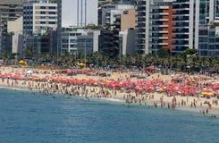 Παραλία και Ipanema Arpoador Στοκ Εικόνες