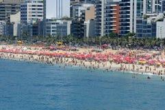 Παραλία και Ipanema Arpoador Στοκ φωτογραφία με δικαίωμα ελεύθερης χρήσης