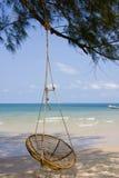 παραλία Καμπότζη στοκ φωτογραφίες