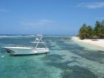 παραλία Καραϊβικές Θάλασσες στοκ φωτογραφία