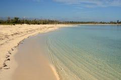 παραλία Καραϊβικές Θάλασ&sig Στοκ Φωτογραφίες